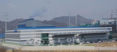 ▲연기군 전의산업단지 내에 위치한 (주)다스코 전경.