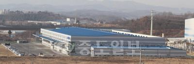 ▲연기군 전의제2산업단지 내에 위치한 (주)다스코 전경