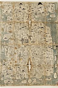 ▲ 조선팔도고금총람도.1673.