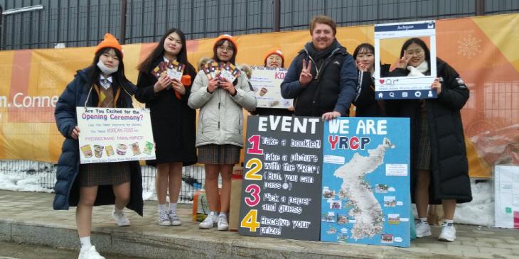 평창 패럴림릭에서 대한민국 홍보에 나서 1