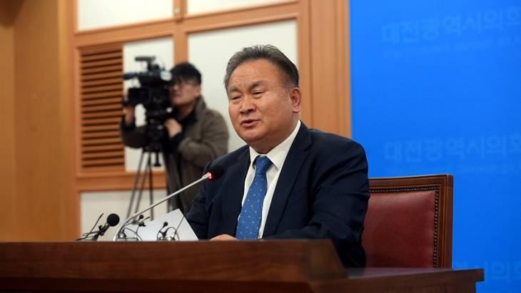 더불어민주당 이상민 의원, 대전시장 출마 선언