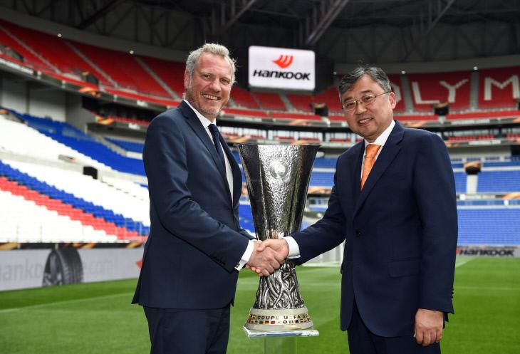[사진자료] 한국타이어, UEFA 유로파리그 공식 후원 협약식 1