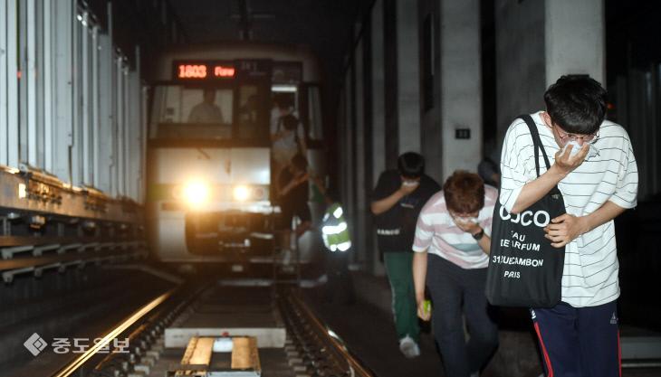 20180517-지하철 대피훈련2