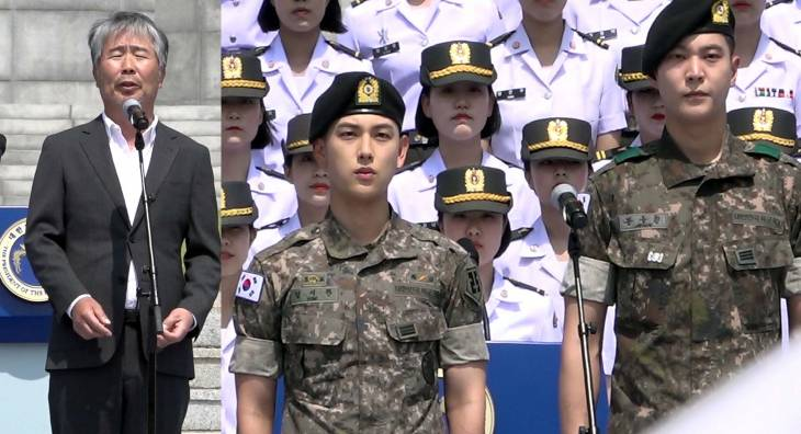 현충일 군복입고 등장한 스타들! 주원, 임시완, 지창욱, 임시완이 부르는 `늙은 군인의 노래`
