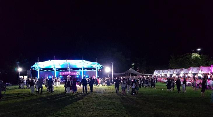 내포보부상촌 밤마실 문화저잣거리 사진