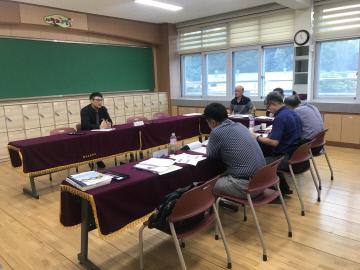 임천초등학교 행복나눔학교 4년차 평가 실시 모습