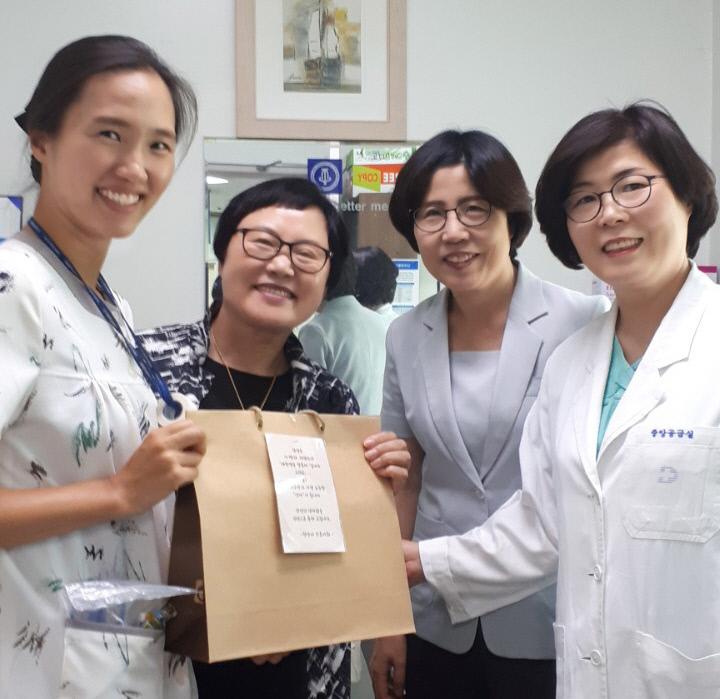 천안시 간호사회-임산부배려해