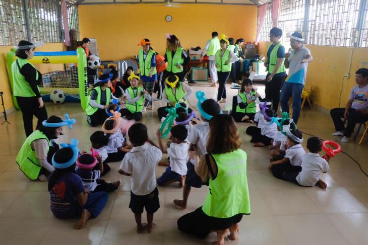 해외봉사 사진