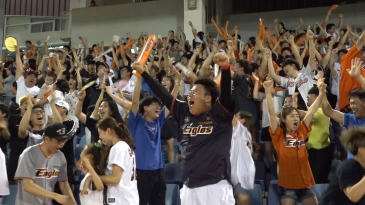제라드 호잉 응원가 중 홈런이 터졌는데..이런 반응이