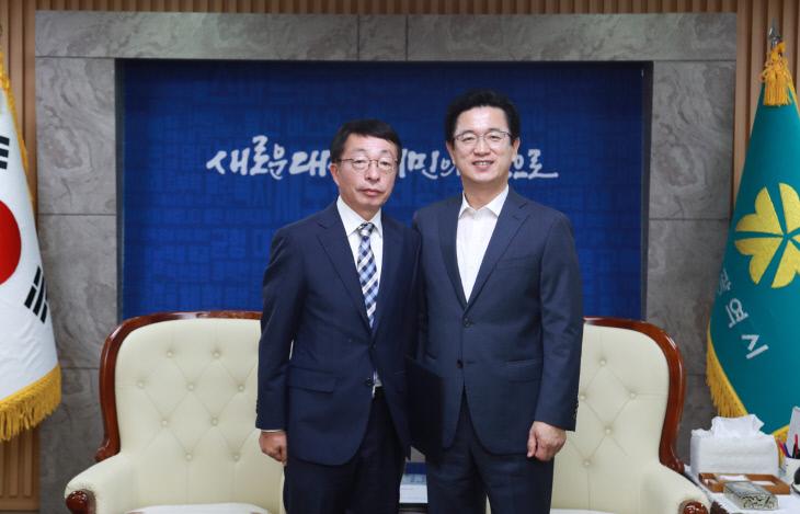대전시 시설관리공단 설동승 이사장 임명 (1)