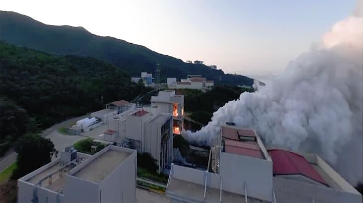 한국형발사체의 심장! 75톤급 액체엔진 연소시험 VR영상!