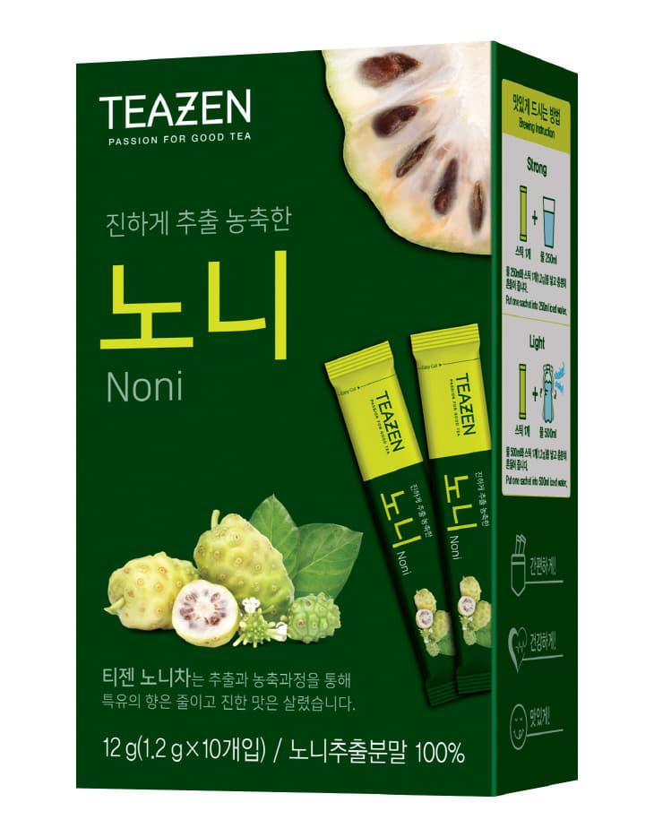 [보도자료] 티젠(TEAZEN), 100% 노니추출 분말스틱 출시!