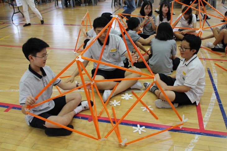수학교과-수학 구조물 쌓기