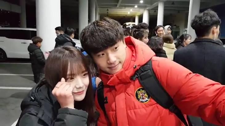 도움왕 대전시티즌 박수일 팬들과 즐거운 한때