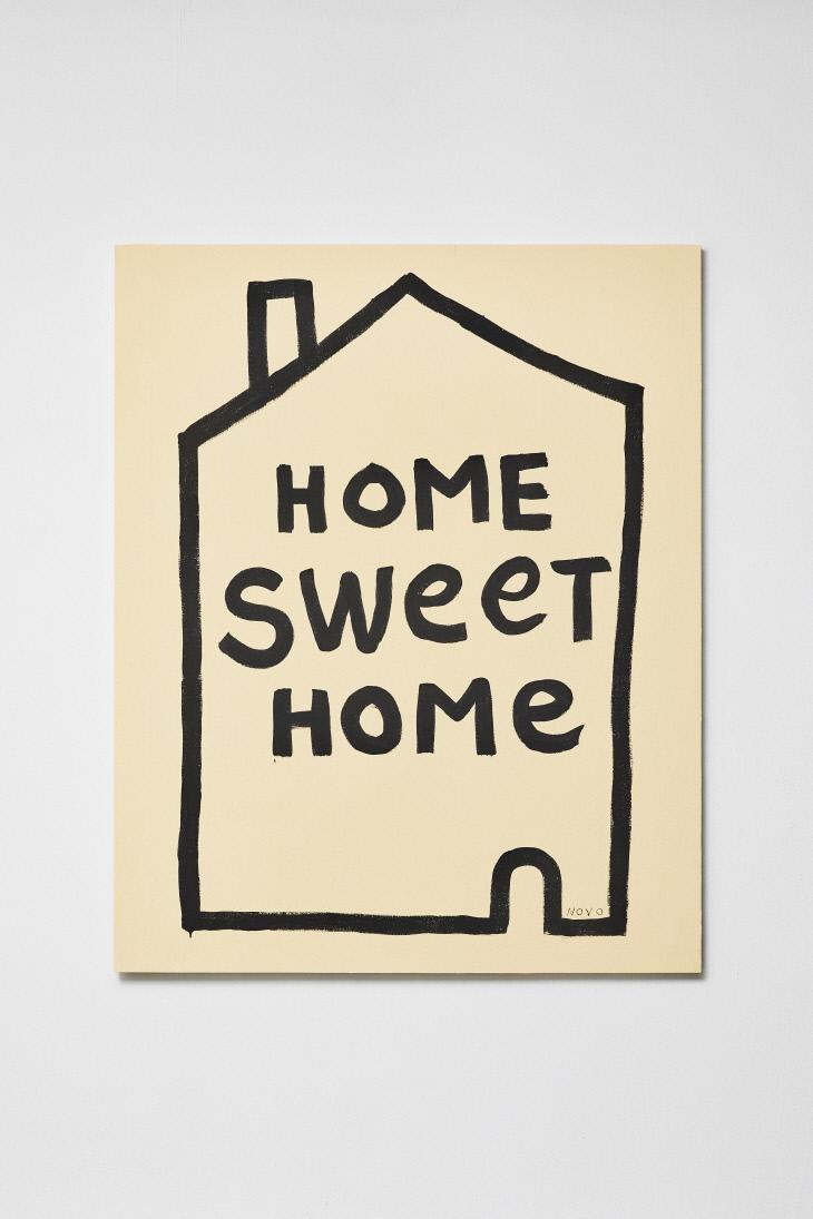 NOVO,Home sweet home, 2018, 캔버스에 유화