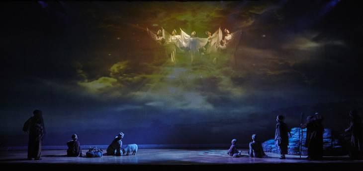 크리스마스 칸타타 오페라 공연 사진