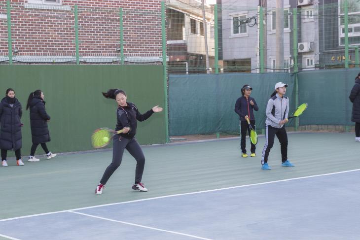 학생선수 동계강화훈련 실시(1)