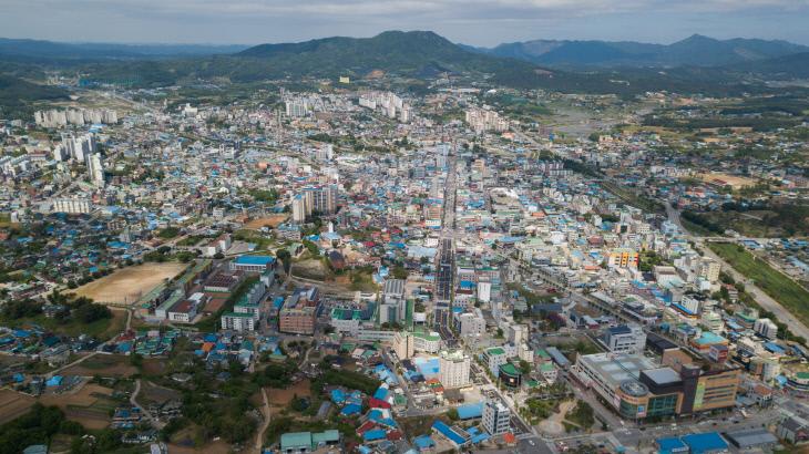 홍성읍 전경