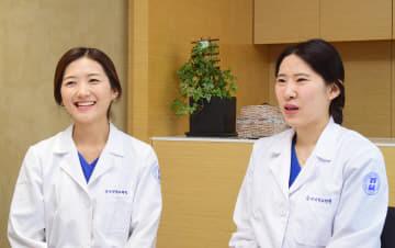 [좌부터] 이수정, 김복임 간호사