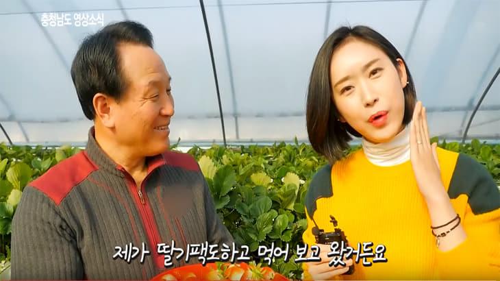 겨울에도 향기가 나는 딸기! 일본산 품종 제친 토종 딸기'설향'