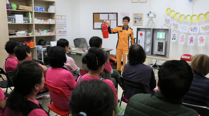 (0212)강경효사랑요양병원 소방안전교육