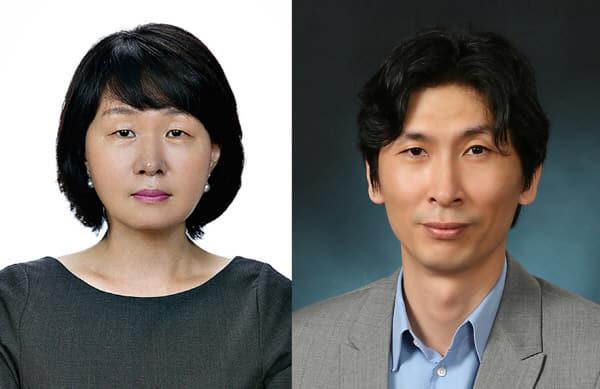 배지현 교수(왼쪽)와 이강석 교수(오른쪽).