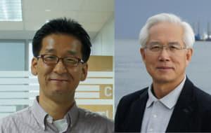 조병관 교수(왼쪽)와 김선창 단장(오른쪽)