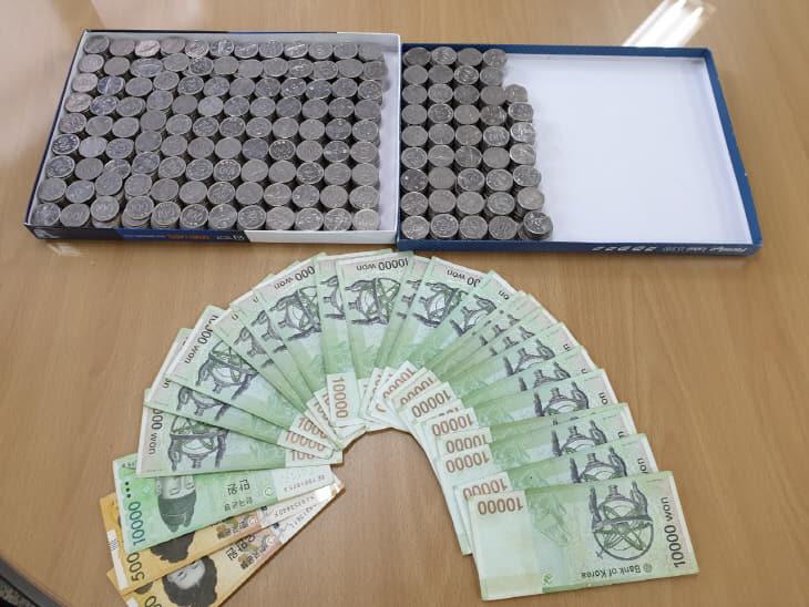 3. 얼굴없는 천사, 비래동에 현금 48만원 기부