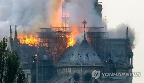 파리 성당 화재