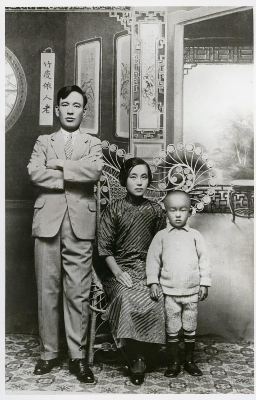 정정화,김의한,김자동_1935년 중국 난징에서(합성원본) 2