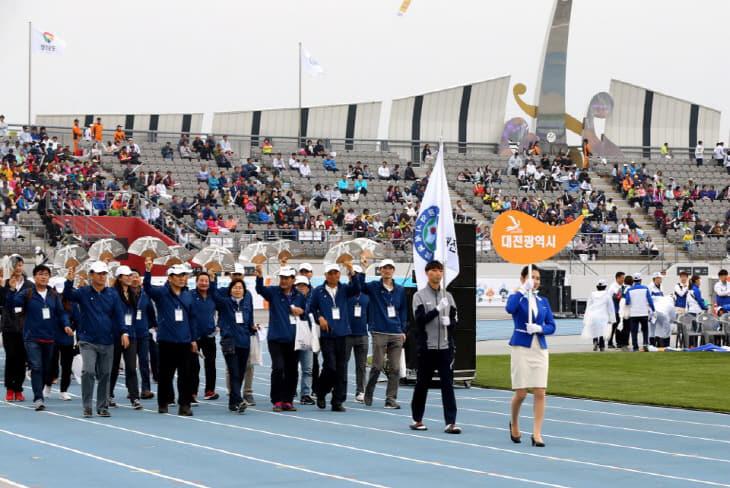 대전 동호인들 2019 전국생활체육대축전 참가