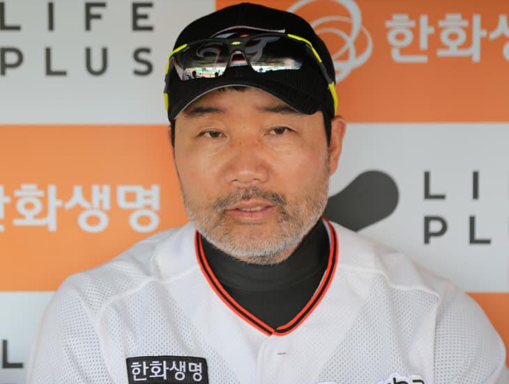 한용덕 감독1