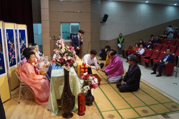 지역 어르신 이팔청춘 팔순잔치 마련(신황 명예기자) 관련사진