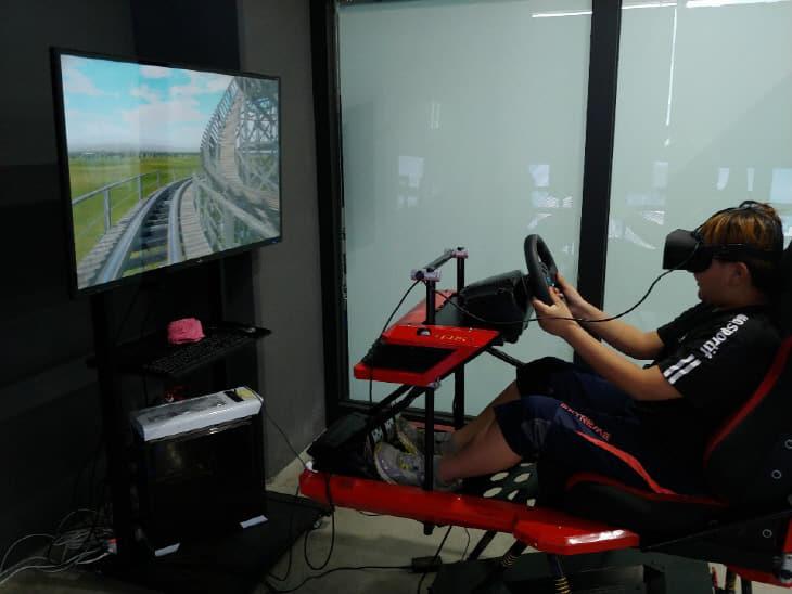 VR체험 운전