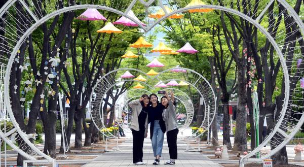 20190521-예술 조형물 설치된 보라매공원2