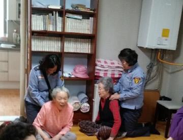 관련사진(온양여성의용소방대 마을담당제)