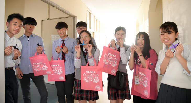 건양중 일본 현지학교 교류 NHK 방송 화제(4)