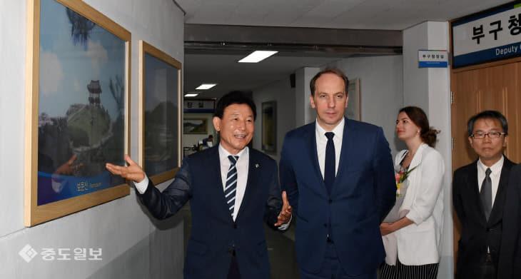 20190612-프랑스 대사 중구청 방문