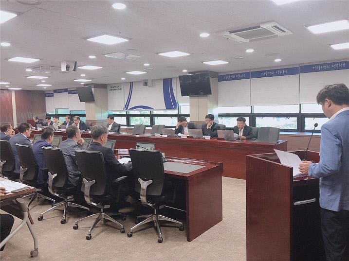 사진3-1. 생활밀착형 일자리 사업 보고회 모습