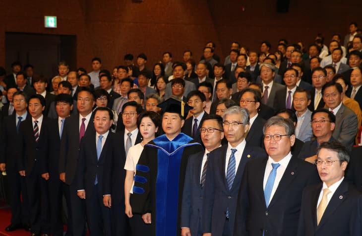 원성수 총장 취임식5