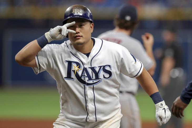 Astros Rays Baseball <YONHAP NO-2358> (AP)