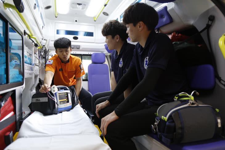 서천소방서, 응급구조학과 학생 구급현장실습