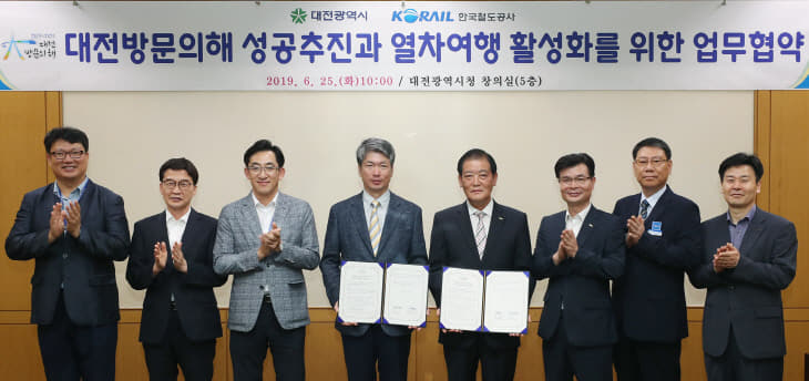 '대전방문의 해'성공추진, 코레일과 '맞손' (1)