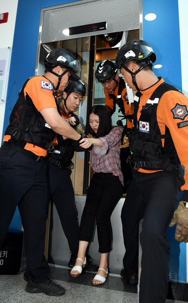 20190626-승강기 사고대응 훈련