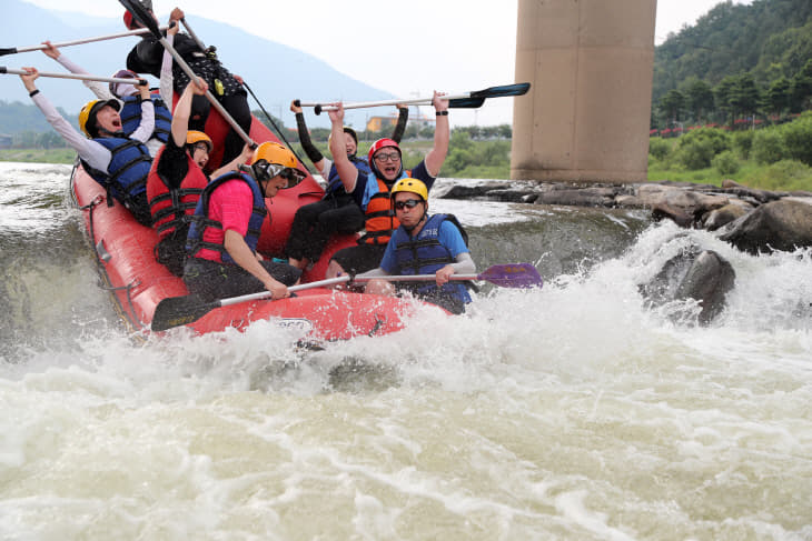 자료사진 산청 경호강 물 페스티벌 래프팅 체험 1-1