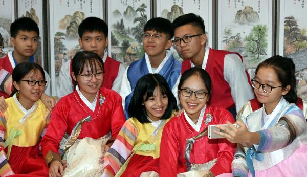 20190712-베트남 학생들의 한복체험