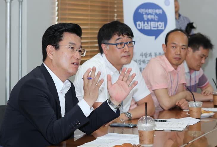 허 시장, 수의사회와 허심탄회 대화 (2)