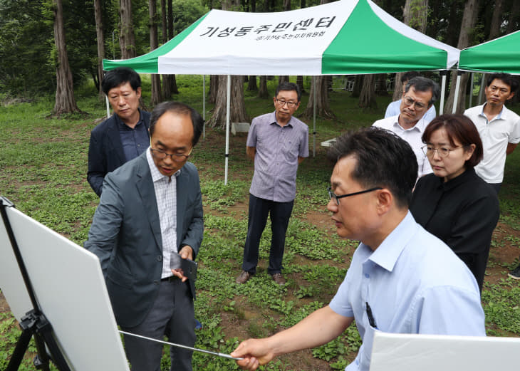 사진4.19.7.18 노루벌 구절초숲 조성관련 국토부 현장평가4
