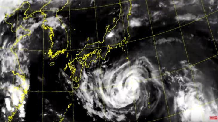 8호 태풍 '프란시스코' 기상 인공위성 천리안 2A가 촬영한 영상