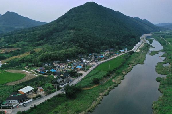 마을하수도정비 동계면 신촌지구 DJI_0142